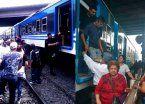 Nuevos trenes del Belgrano Sur dejan a los pasajeros de a pie