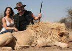 Filtran polémicas fotos de Vannucci y Garfunkel cazando animales