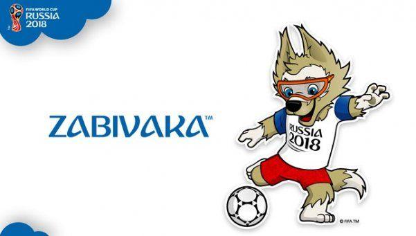 La mascota del Mundial de Rusia será un lobo llamado Zabivaka