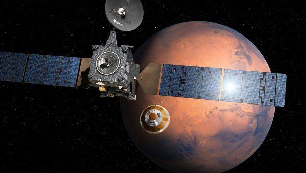 Chocó la sonda enviada para explorar Marte