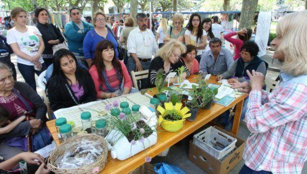 Se realizó una nueva edición de la Feria Verde en San Martín