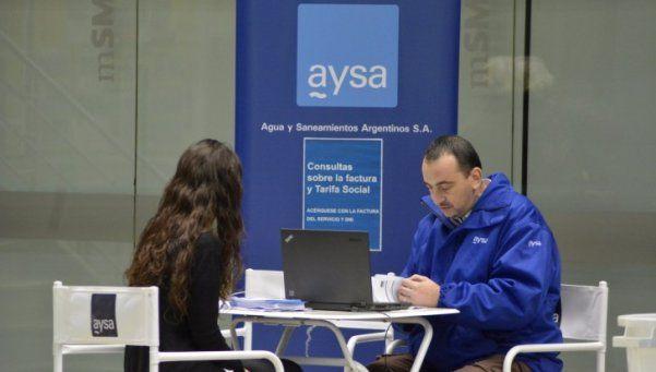 San Martín y AySA llevarán a cabo un operativo para acercar la tarifa social