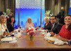 Duelo de lenguas en la mesa de Mirtha con Moria y Carmen de invitadas