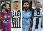 Cuatro argentinos entre los treinta nominados al Balón de Oro