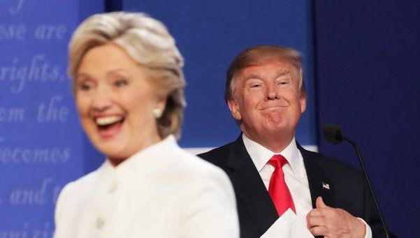 Marcha atrás de Trump, que no investigará a Hillary