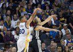 Laprovíttola debutó en la victoria de Spurs ante Golden State