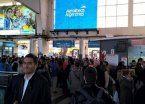 Paro de señaleros: cientos de personas varadas en el retorno a casa