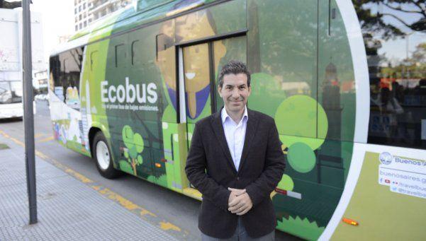 Así es el Ecobus, el colectivo híbrido que presentó la Ciudad