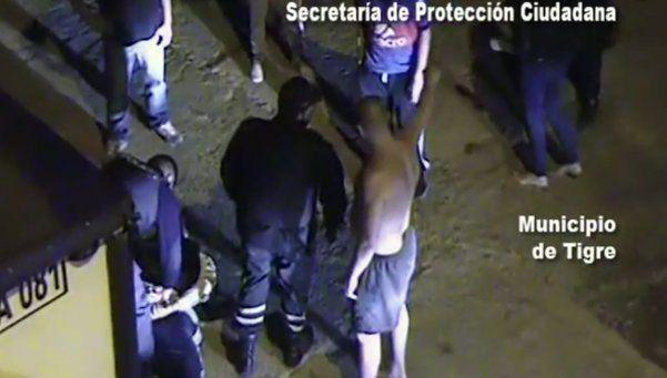 Video | Vecinos atraparon a un ladrón en Tigre