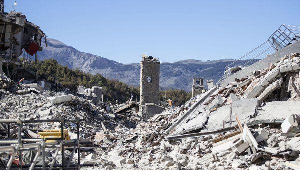 Terremoto volvió a sacudir al centro de Italia: el más potente desde 1980
