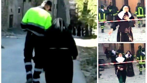 Terremoto en Italia: monjas de clausura debieron huir de convento