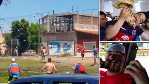 Video | Barras de Chicago y Tigre, a los tiros en la General Paz