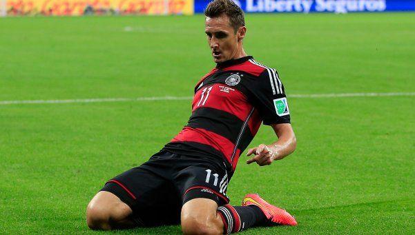 Se retiró Klose, el verdugo argentino en dos mundiales