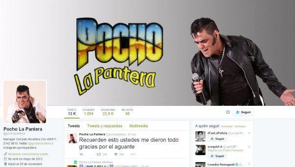 La emotiva despedida de Pocho La Pantera para sus fans