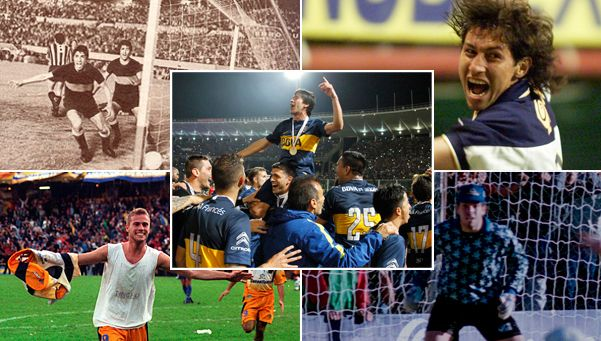 5 cruces inolvidables entre Boca y Rosario Central