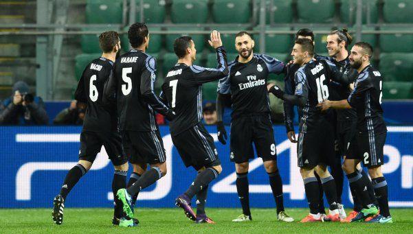 Champions: Real Madrid rozó el papelón en Polonia