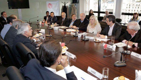 Reunión del CESBA y la ministra de salud porteña para una agenda en común