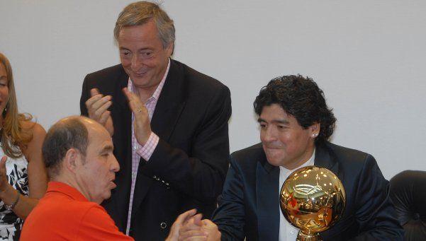 Audio   La alegre respuesta de Maradona a Bochini por su cumpleaños