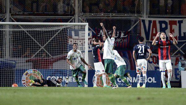 San Lorenzo tropezó en la ida y no pudo volcar la serie a su favor