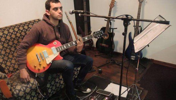Kandrachoff y su banda, a pleno rock