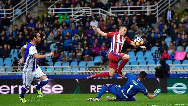 El Atlético de Simeone cayó ante la Real Sociedad