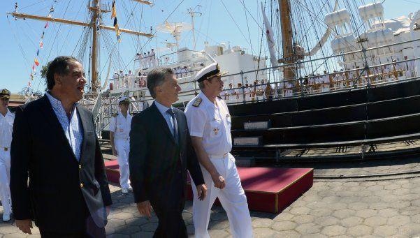 Después de 6 meses de navegación, llegó la Fragata Libertad