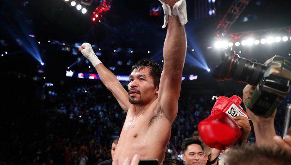 Pacquiao volvió del retiro, ganó y se coronó campeón del mundo