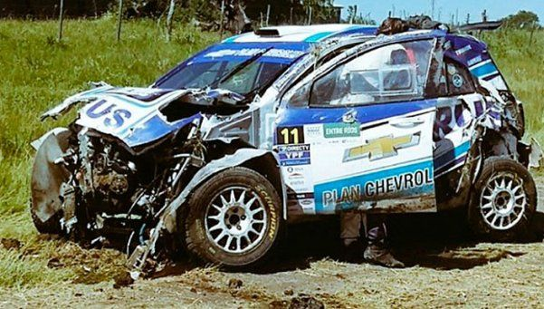 Video | Terrible accidente de Nalbandian en el Rally