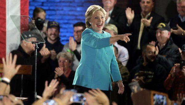 El FBI ratificó que no hay evidencias para procesar a Hillary Clinton