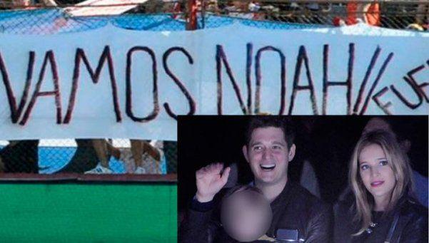 Hay optimismo por la salud de Noah y apoyo de la gente de River