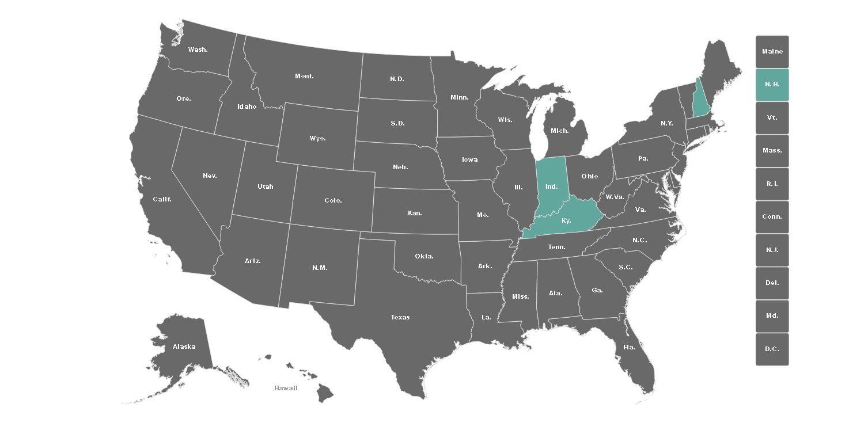 Elecciones en EEUU | Mapa interactivo: así votaron los norteamericanos