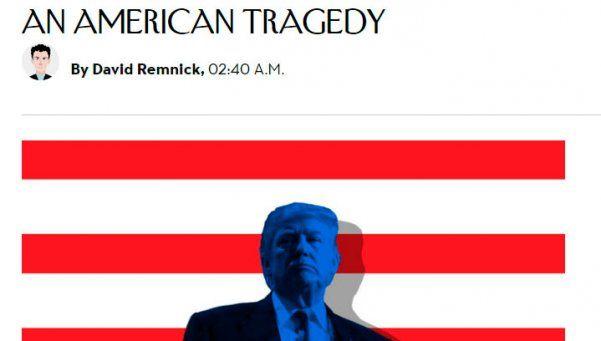 """El triunfo de Trump en los medios estadounidenses: """"Es una tragedia"""""""