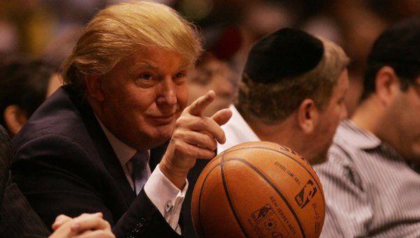 Trump y el deporte, una relación llena de frustraciones