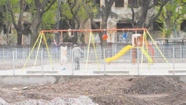 Novedades en espacios verdes en Pompeya