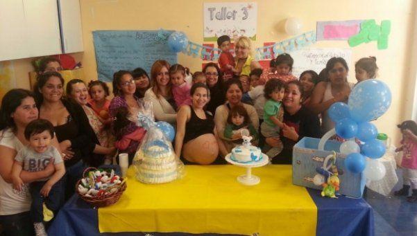 UPA La Boca fortalece el vínculo entre madre e hijo