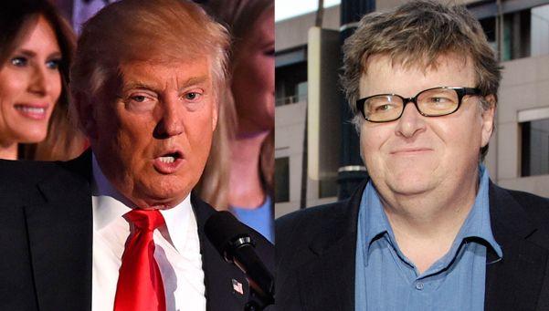 Cinco cosas para hacer tras el triunfo de Trump, según Michael Moore