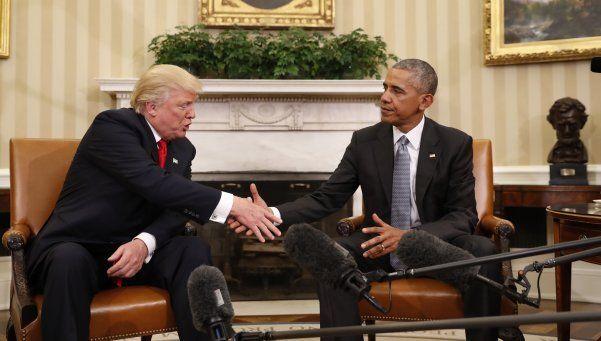 Trump le pidió a Obama que lo aconseje en el futuro