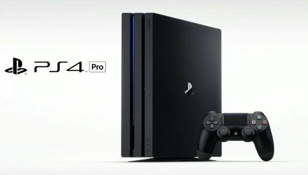 Sony lanzó la PlayStation 4 Pro, más potente y compatible con 4k