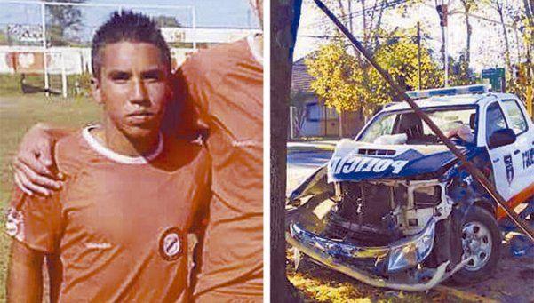 El caso impune del futbolista arrollado por un patrullero