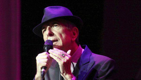 Falleció el cantautor y poeta Leonard Cohen