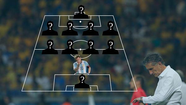 ¿Cómo armarías el rompecabezas de la Selección ante Colombia?