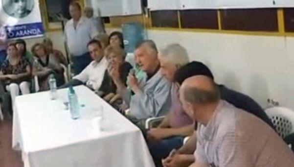 Video | El exabrupto de Gioja sobre Macri