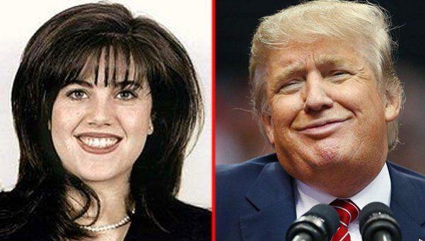Mónica Lewinsky y un particular RT: ¿Mensaje para Trump?