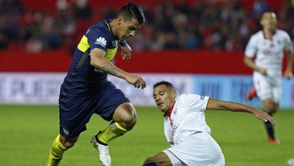 Boca derrotó a Sevilla en un amistoso lleno de goles