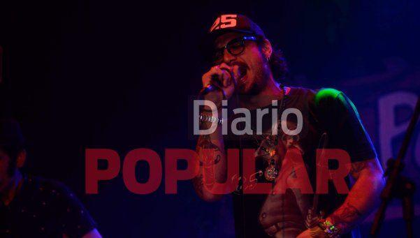 Exclusivo | Las fotos del debut argentino de Osvaldo como cantante