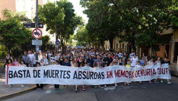 Una marcha para recordar a Nuria y pedir más seguridad