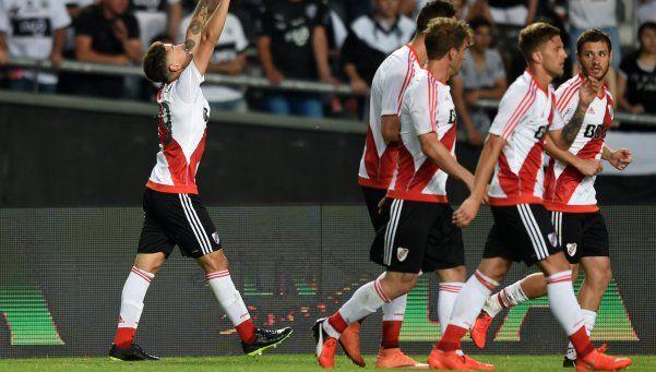 River goleó a Olimpia y Gallardo comprobó que tiene material