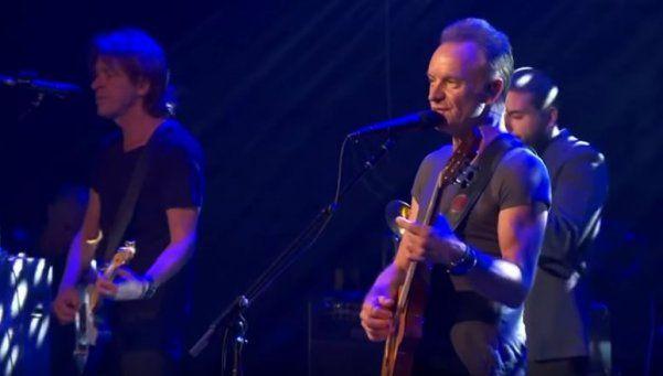 Bataclan reabrió sus puertas al ritmo de Sting en emotiva noche