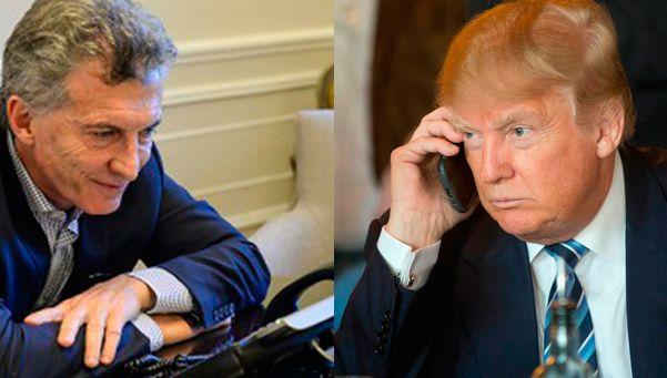 ¿De qué hablaron por teléfono Mauricio Macri y Donald Trump?