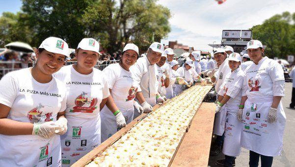 Sale una grande: harán la pizza más larga de la Argentina